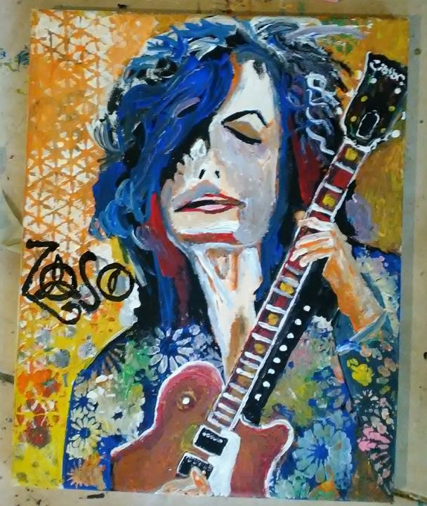 Zoso 2 -SOLD - Gregory McLaughlin - Artist