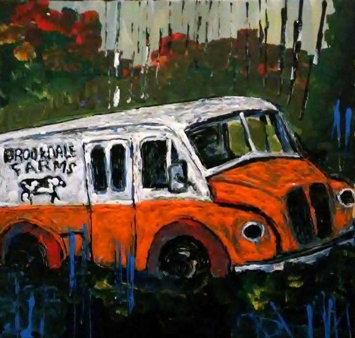 Milk Truck - Gregory McLaughlin - Artist