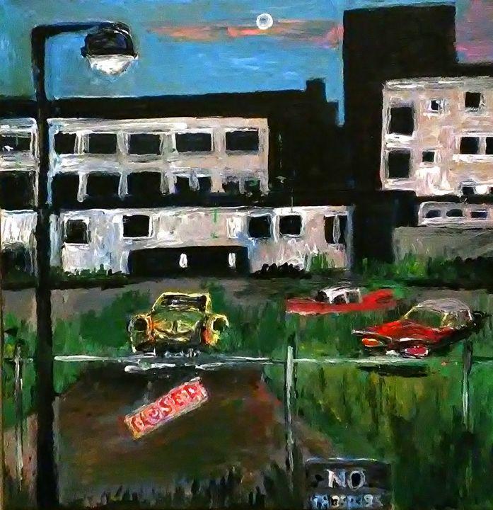 Ghost Factory Detroit - Gregory McLaughlin - Artist