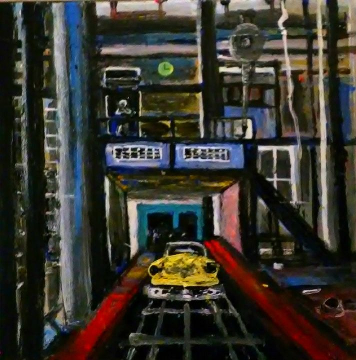 Ghost Factory - Gregory McLaughlin - Artist