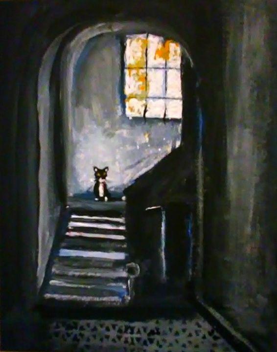Creepy Cat - Gregory McLaughlin - Artist