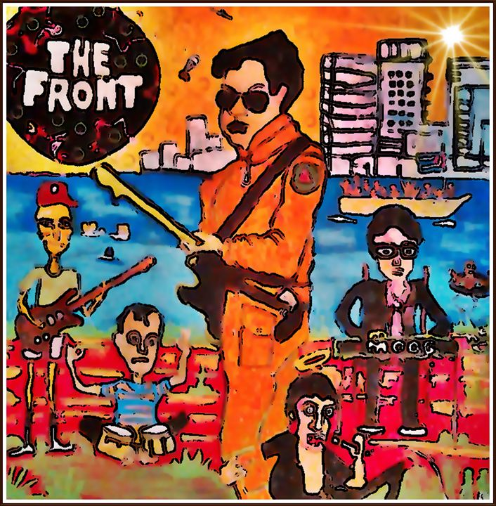 THE FRONT - Gregory McLaughlin - Artist