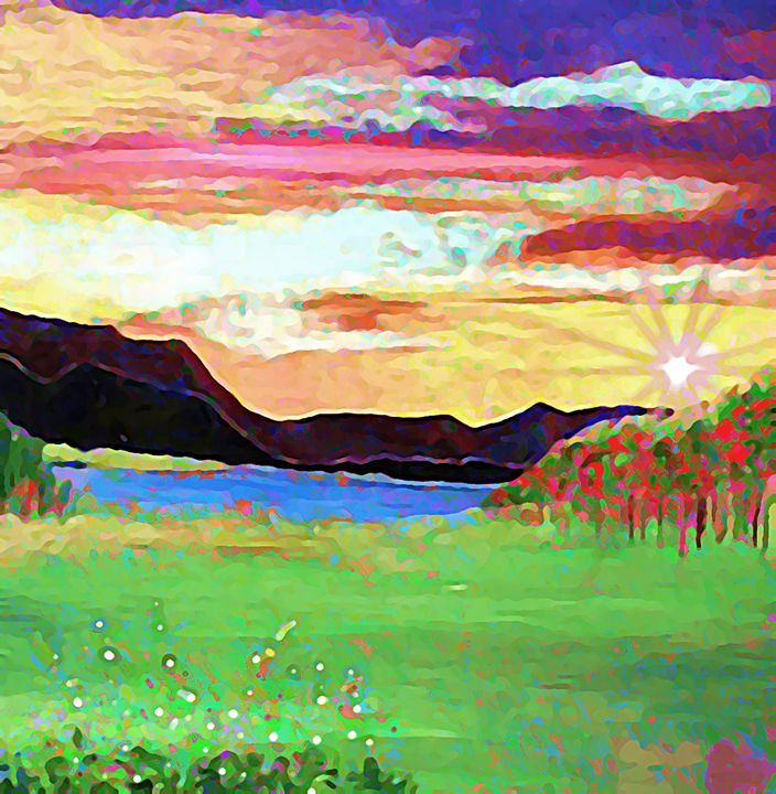 Beautiful Day - McLaughlin - Gregory McLaughlin - Artist