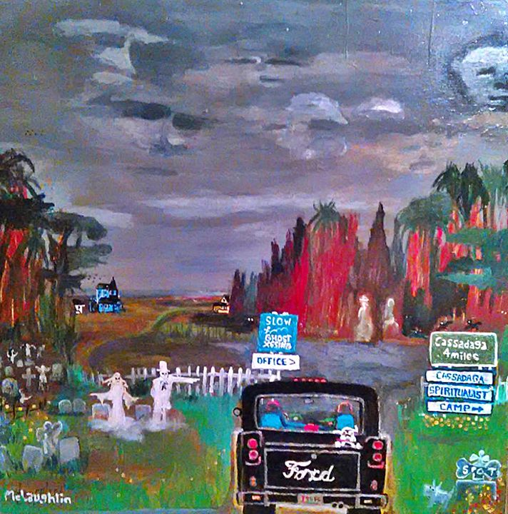 CASSADAGA -McLaughlin - Gregory McLaughlin - Artist