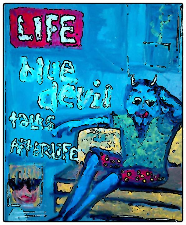 BLUE DEVIL LIFE - Gregory McLaughlin - Artist