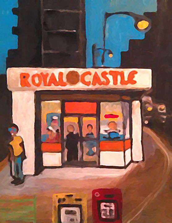 ROYAL CASTLE - SOLD - Gregory McLaughlin - Artist