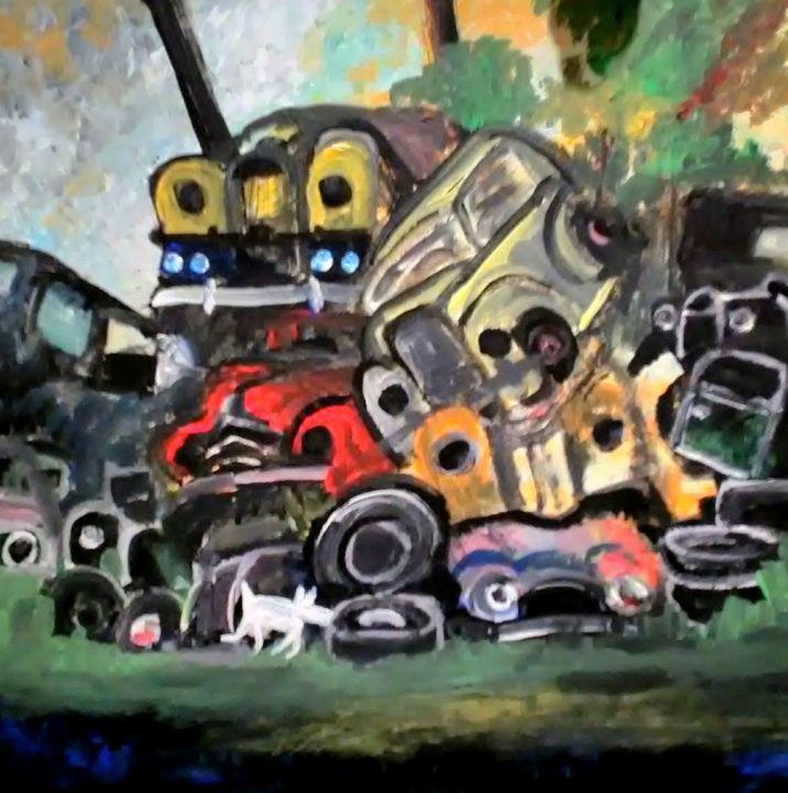 Junkyard - Gregory McLaughlin - Artist
