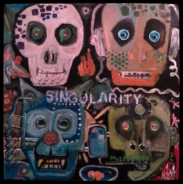 SINGULARITY - Gregory McLaughlin - Artist