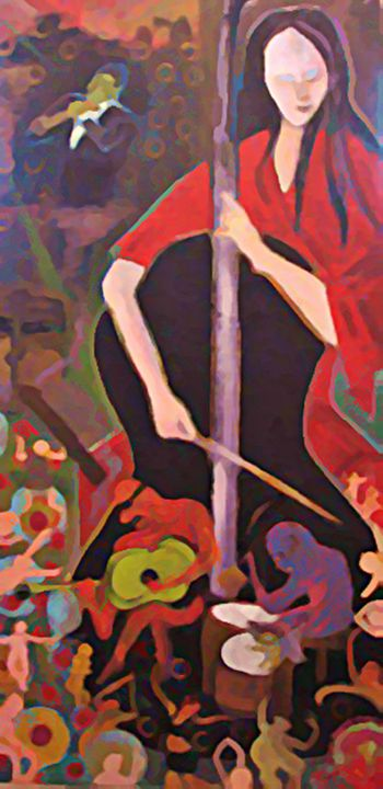 Magic Of The Muse - Gregory McLaughlin - Artist