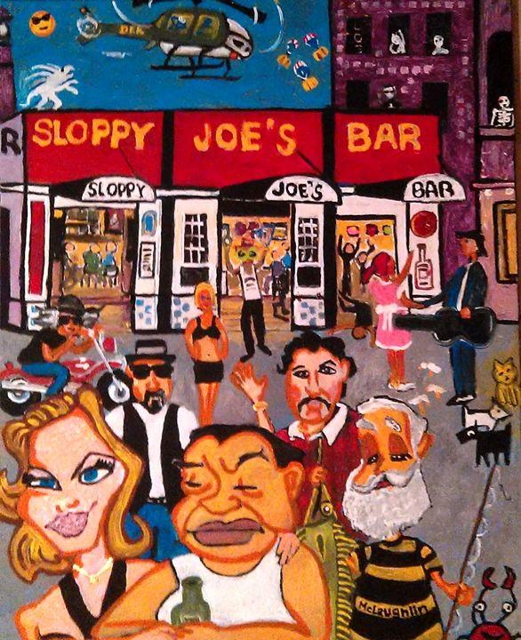 SLOPPY JOES KEY WEST - Gregory McLaughlin - Artist