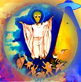 ASCENCION OF ALIEN JESUS