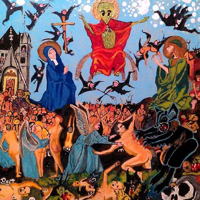 FINAL JUDGEMENT OF ALIEN JESUS - Gregory McLaughlin - Artist