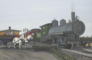 Tewksbury Junction Railroad Station