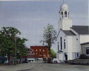 Early York Village Maine