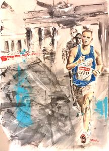 Nico's Berlin race
