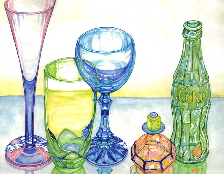 Colorful Glasses - John Hoge
