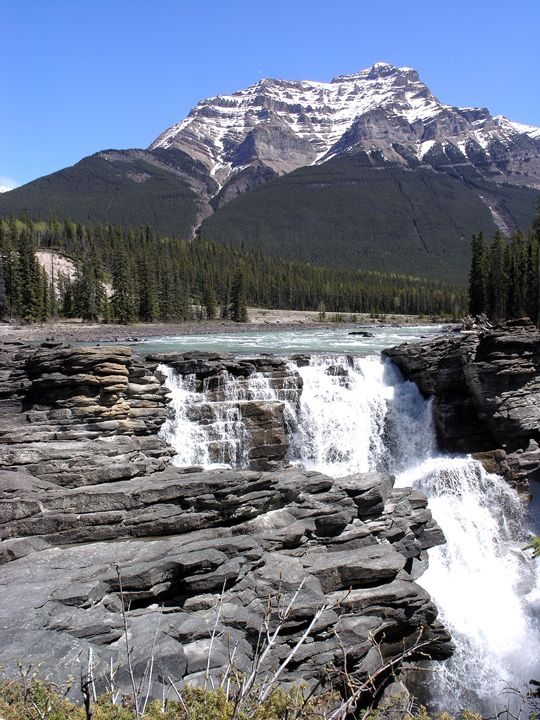 Athabasca Falls, Jasper - Awesome Nature