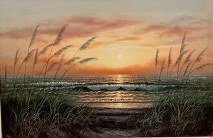 Signed Original Robertson Oil Painti