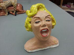 Yawning Monroe