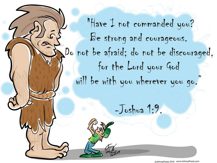 Be Strong and Courageous - Johnny Praize
