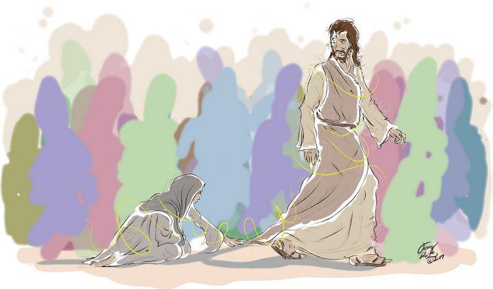 Touching the hem of His robe - Johnny Praize