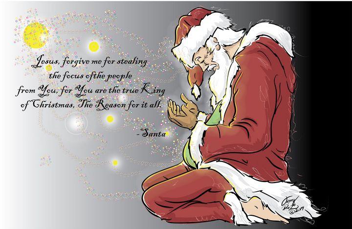 Repenting Santa - Johnny Praize