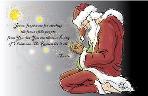 Repenting Santa