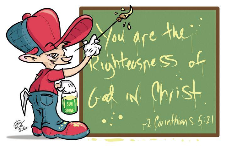 The Cartoon Painter for Christ - Johnny Praize