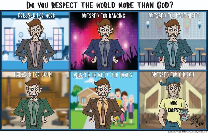 Dressed for Church - Johnny Praize