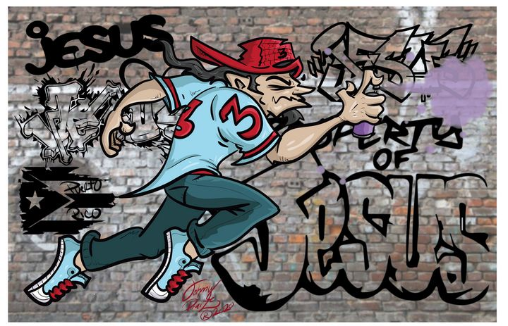 Graffiti Man - Johnny Praize