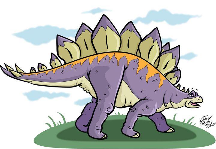Stegosaurus - Johnny Praize