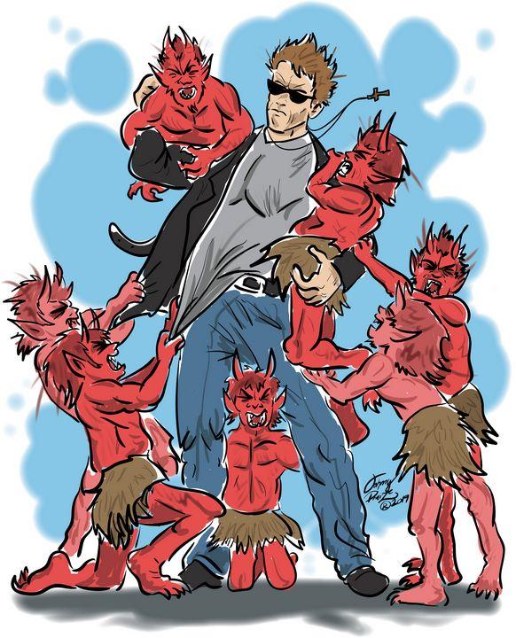 Arnold Demon Slayer - Johnny Praize
