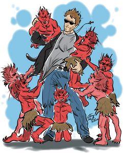 Arnold Demon Slayer