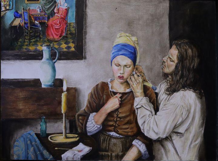Vermeer at work - The Artful Codger