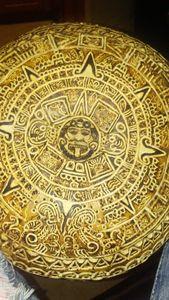 Aztec calandar