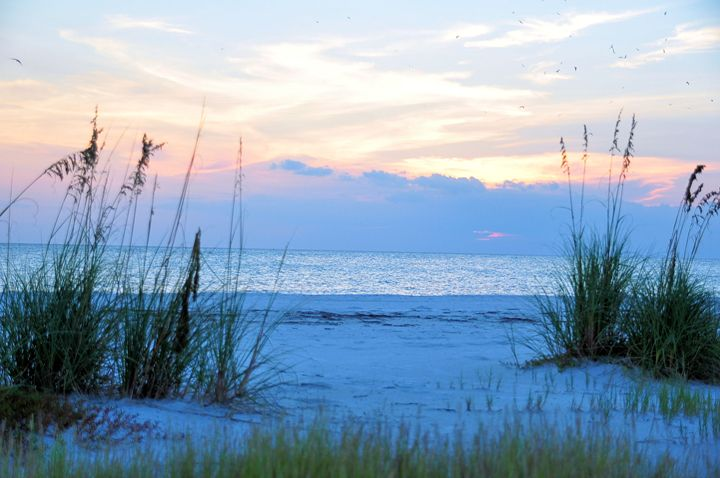 Serenity of the Beach - Scenic America Photography