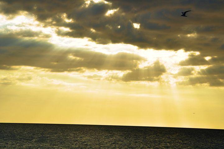 Sun Beams - Scenic America Photography