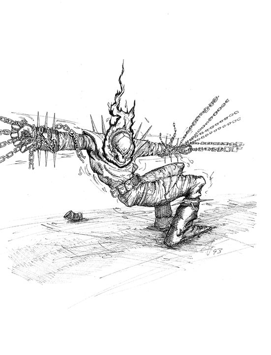 Ghostrider - Angryotter