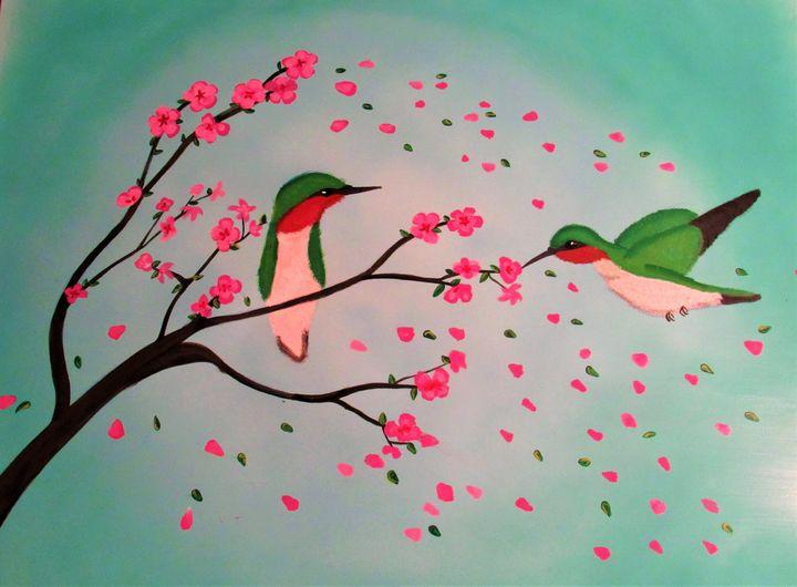 Cherry blossom tree - Vivian L.