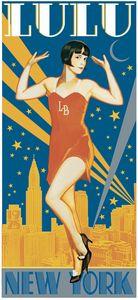 Lulu In New York 11x17 art print