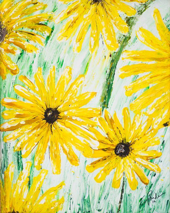 Sunflowers - GParker Artworks