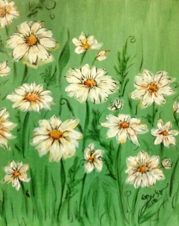 Daisies - GParker Artworks
