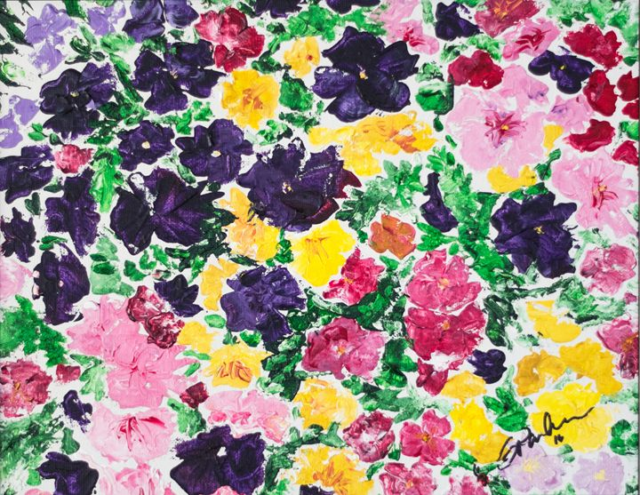 Pansies - GParker Artworks