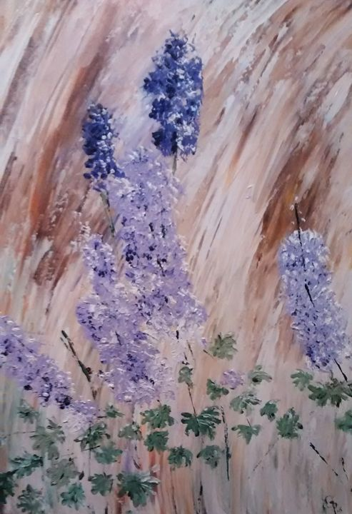 Alaskan wild flowers - GParker Artworks