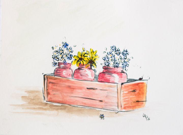 Flower box - GParker Artworks