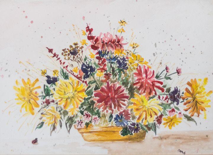 Flower still life - GParker Artworks