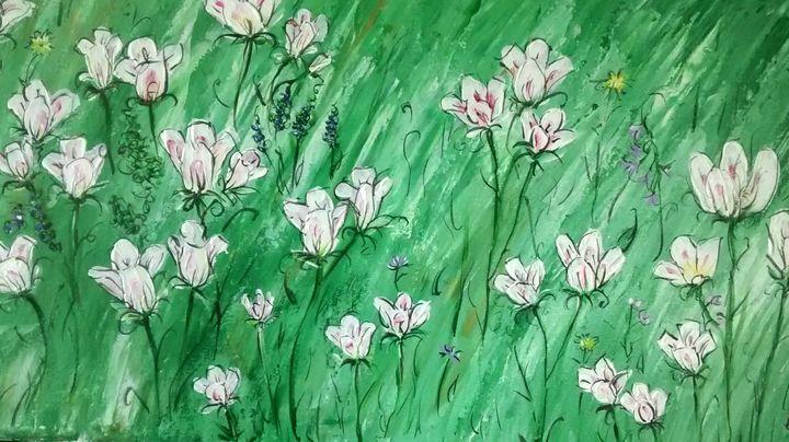 Sego lilies - GParker Artworks