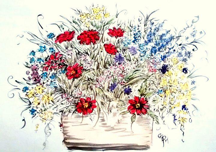 Flowerbox - GParker Artworks