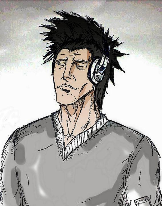 listening to music - nawfal ben