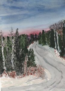 Haldi Lake Road